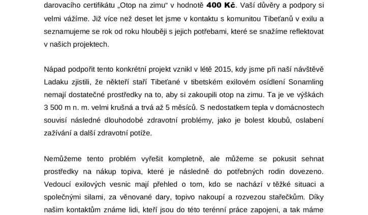 thumbnail of Privitaci dopis – Otop na zimu